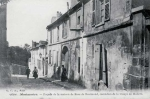 Antique postcard of 12 rue Cortot, Montmartre.